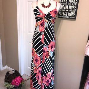 Soma size small maxi dress floral print 🌺